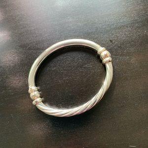 Jewelry - Sterling silver bangle bracelet.